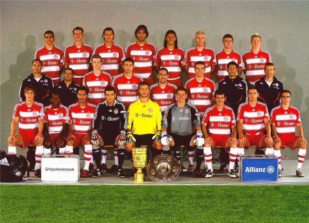 Футбольный клуб бавария 2008