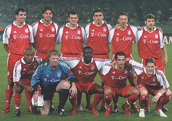 Бавария мюнхен футбольный клуб 2004